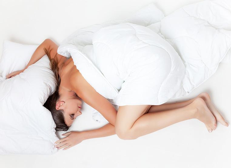 Dormir con mala postura