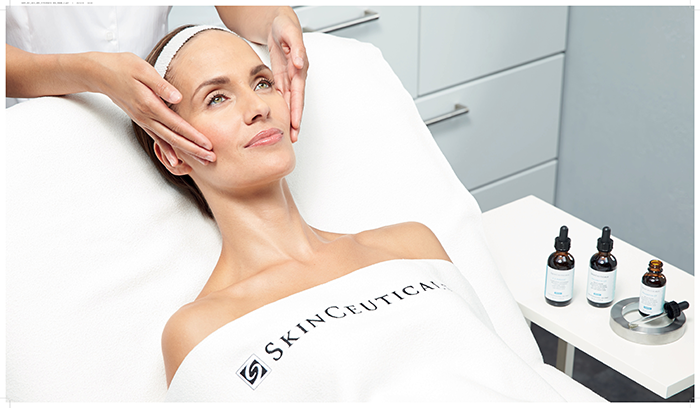 tratamientos en cabina con Skinceuticals